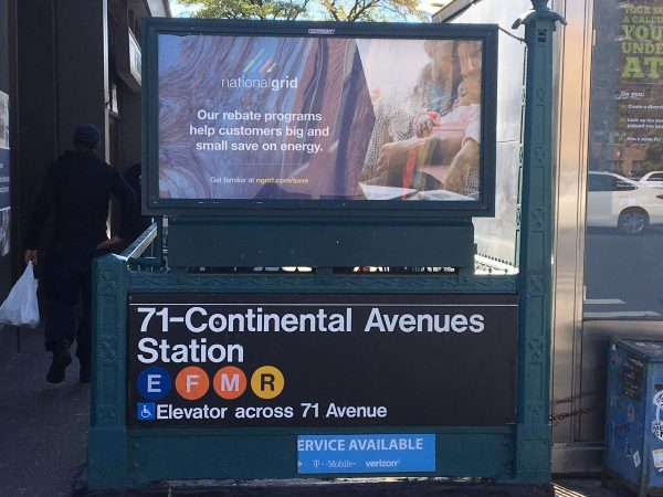 71 Continental Ave subway station