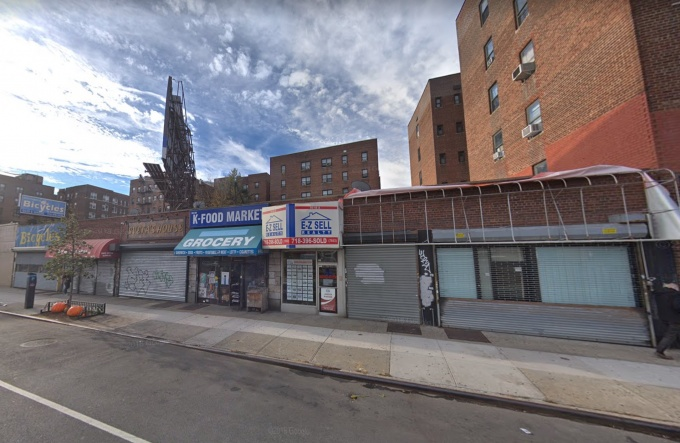 rego park storefronts likely to be demolished for 9 story