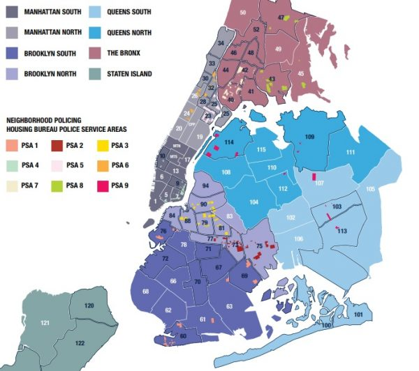 nypd brooklyn south precinct map Astoria S 114th Precinct Accounted For The Highest Number Of Stop nypd brooklyn south precinct map
